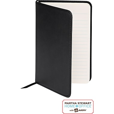 Martha Stewart Home Office™ with Avery™ Classic Smooth-Finish Journal, Black, 4in. x 6in.