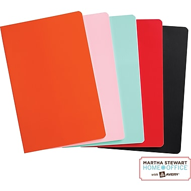 Martha Stewart Home Office™ with Avery™ Notebooks, 5-1/2in. x 8-1/2in.