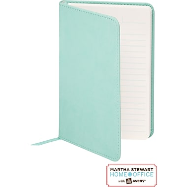 Martha Stewart Home Office™ with Avery™ Classic Smooth-Finish Journal, Blue, 4in. x 6in.