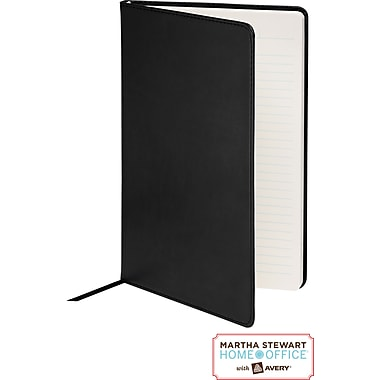 Martha Stewart Home Office™ with Avery™ Classic Smooth-Finish Journal, Black, 5-1/2in. x 8-1/2in.