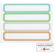 Martha Stewart Home Office™ with Avery™ File Folder Labels - Blue, Green, Gray, Cappuccino, 120/Pack