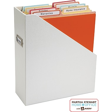 Martha Stewart Home Office™ with Avery™ Permanent File Folder Labels, 5/8in. x 3-1/2in., 168/Pack