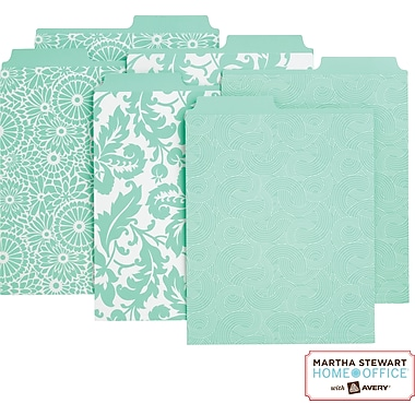Martha Stewart Home Office™ with Avery™ Vertical File Folders Assorted Patterns