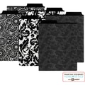 Martha Stewart Home Office™ with Avery™ Vertical File Folders Assorted Black Patterns, 2 Tabs
