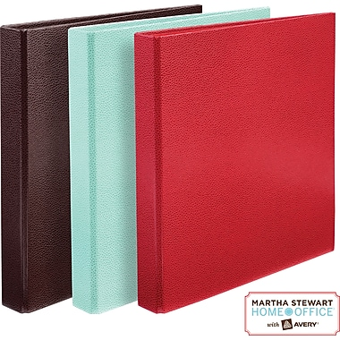 Martha Stewart Home Office™ with Avery™ Shagreen Binder 1in. One-Touch EZD™ Ring