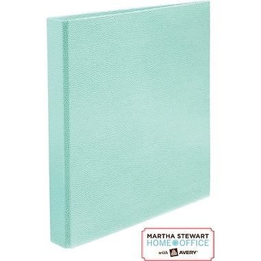 Martha Stewart Home Office™ with Avery™ Shagreen Binder 1in. One-Touch EZD ™ Ring, Blue