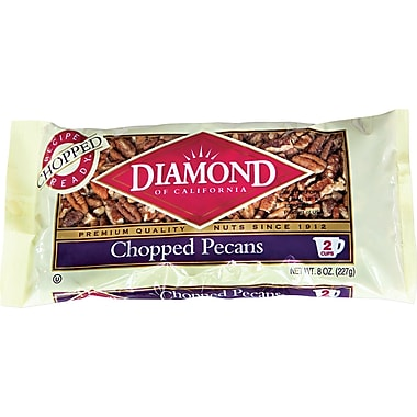 Diamond Chopped Pecans, 8 oz.