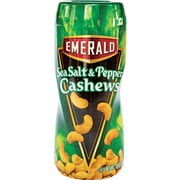 Emerald® On-the-Go Sea Salt & Pepper Cashews, 10 oz.