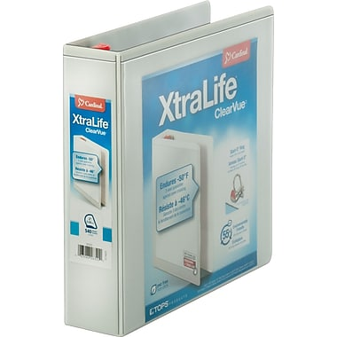 2in. Cardinal® XtraLife® ClearVue™ Binder with Slant-D® Rings