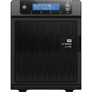 WD Sentinel™ DX4000 Small Office Network Attached Storage Servers