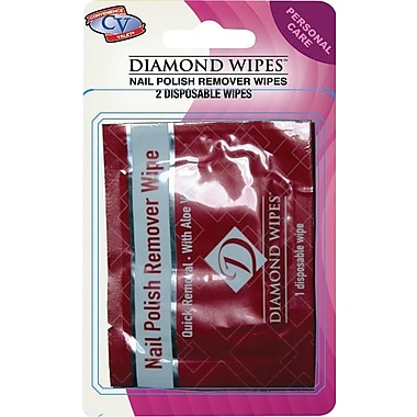 Diamond Wipes™ Travel Size Nail Polish Remover Pads 6 Packs