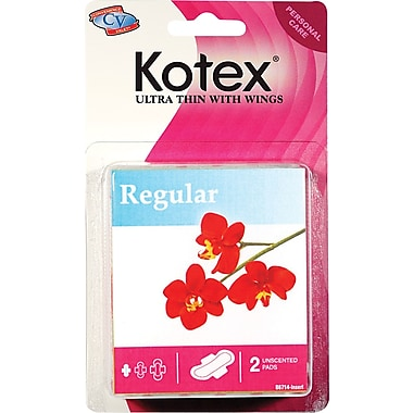 Kotex® Travel Size Ultra-Thin Pads & Tampons