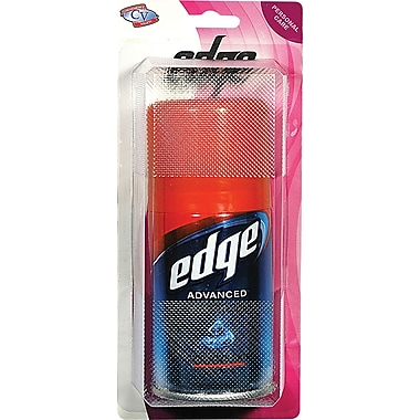 Edge Travel Size Shaving Gel, 2 Packs
