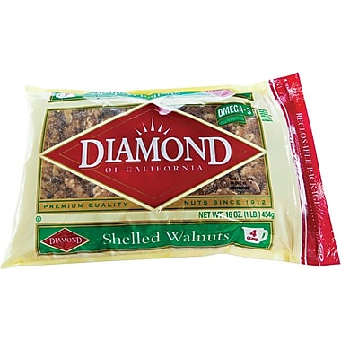 Diamond Shelled Walnuts, 1 lb.