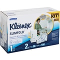 Kleenex® Slimfold™ Paper Towel Starter Kit with Dispenser + 2 Packs