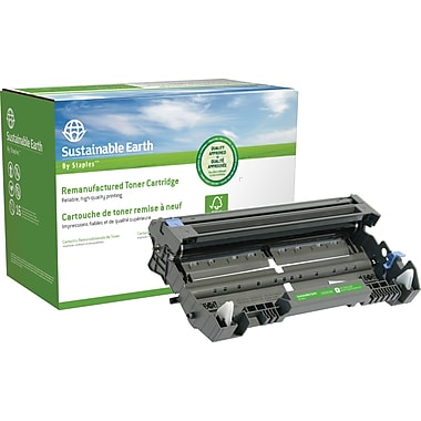 Sustainable Earth by Staples Reman Drum Cartridge, Brother DR-520