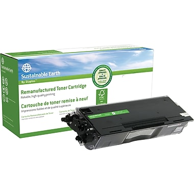 Sustainable Earth by Staples – Cartouche de toner noire remise à neuf, Brother TN-430 (SEB430R)