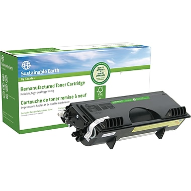Sustainable Earth by Staples Reman Black Toner Cartridge, Brother TN-530 (SEBTN530R)