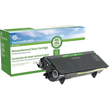 Sustainable Earth by Staples Remanufactured Black Toner Cartridge, Brother TN-540