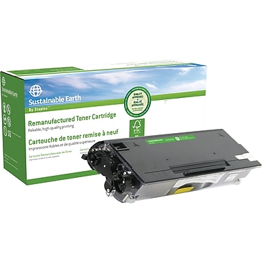 Sustainable Earth by Staples™ Black Toner Cartridge, Brother TN-620