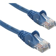 Staples 21928 50' CAT5e Plus Snagless Patch Cable, Blue