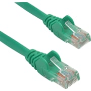 Staples 25' CAT5e Plus Snagless Patch Cable - Green