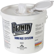 Brawny Industrial™ Surface System Wiper, White, 6/CT