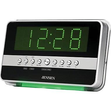 Jensen JCR-275 AM/FM Dual Alarm Clock Radio