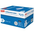Staples® Multipurpose Paper, 8 1/2in. x 11in., Case