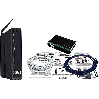 XBLUE Server and Wireless Router for X-50 VoIP Office Telephone System