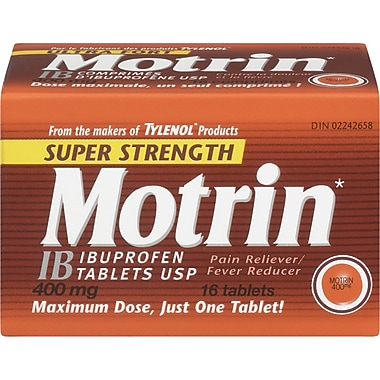 Motrin® IB Tablets, Super Strength