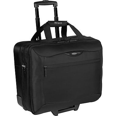 Targus® Rolling Travel Laptop Case, Black 17in.