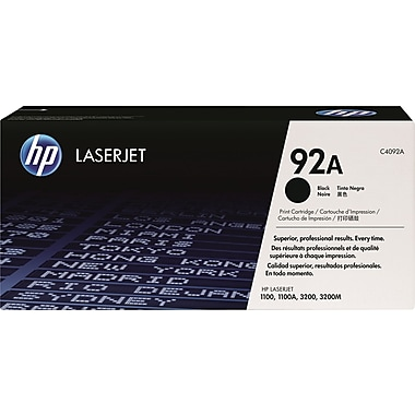 HP 92A Black Toner Cartridge (C4092A)