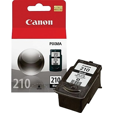 Canon® PG-210 Black Ink Cartridge (2974B001)