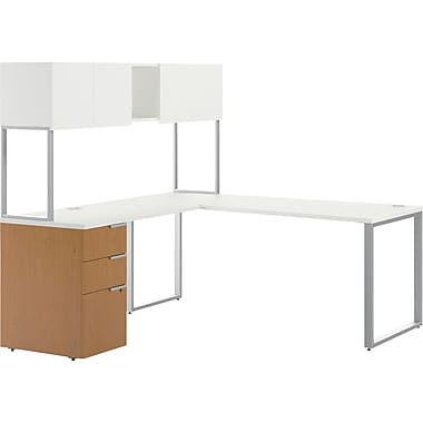 HON Voi Mixed Material L-Shaped Office Desk