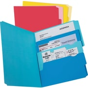Pendaflex Divide-It-Up™ File Folder, Letter Size, Assorted, 24/Pack