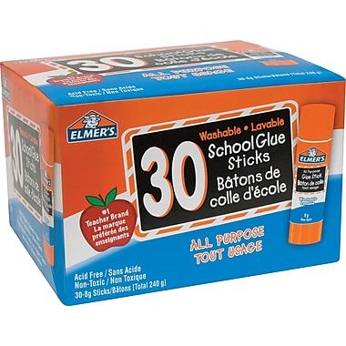 Elmer's® - Bâtons de colle tout usage, 30 x 8 g