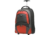 Samsonite Wheeled Backpack, Black/Red