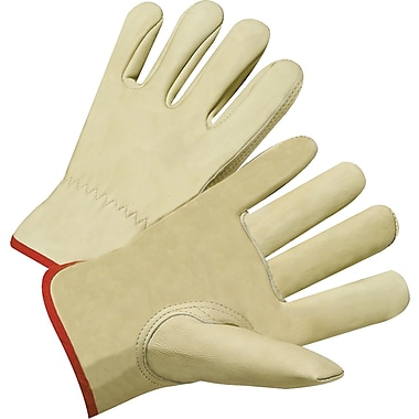 Anchor Brand Premium Driver Gloves, Cowhide Leather