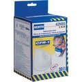 North Safety CFR-1 Replacement Filters, N95, Particulate Aerosols Free of Oil, Solids, 20/Box
