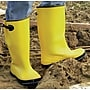 Anchor Brand Slush Boots, 13 Size, Yellow, Net