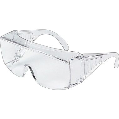 MCR Safety® Yukon Crews ANSI Z87 Protective Eyewear, Clear, X-Large