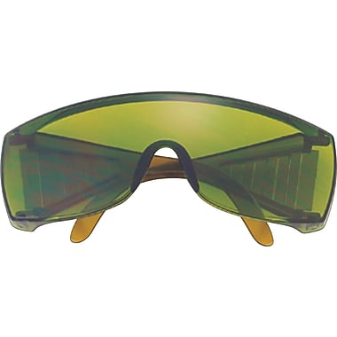 MCR Safety® Yukon Crews ANSI Z87 Protective Glasses, Green