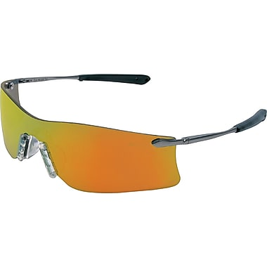 MCR Safety® Rubicon Crews ANSI Z87 Protective Glasses, Gray