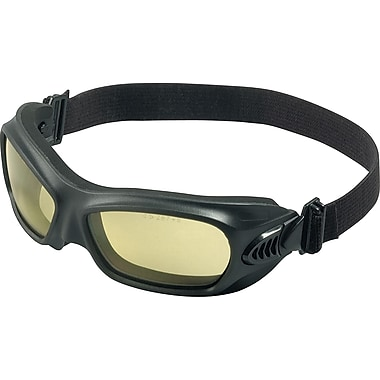 Jackson® Wildcat™ Safety Goggles, Polycarbonate, Amber/Black