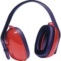 Howard Leightning® QM24+® Overhead Earmuffs, Red,  25 dB