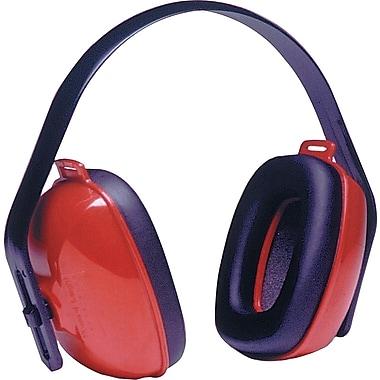Howard Leightning® QM24+® Overhead Earmuffs, Red, 25 dB