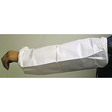 DuPont® ProShield® NexGen® Sleeves, Elastic Top, 18in., Elastic Wrist, White, 200/Carton