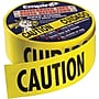 Empire® Level Safety, Caution/Barricade Tape, Yellow, 1000'