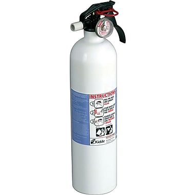 Kidde Residential Series Kitchen Sodium Bicarbonate Fire Extinguisher, 100 psi